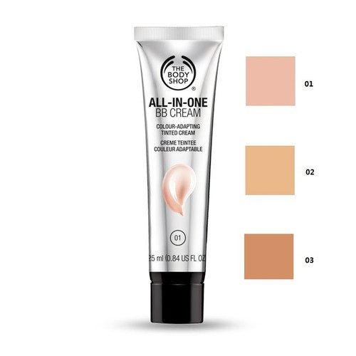 shade all in one bb cream