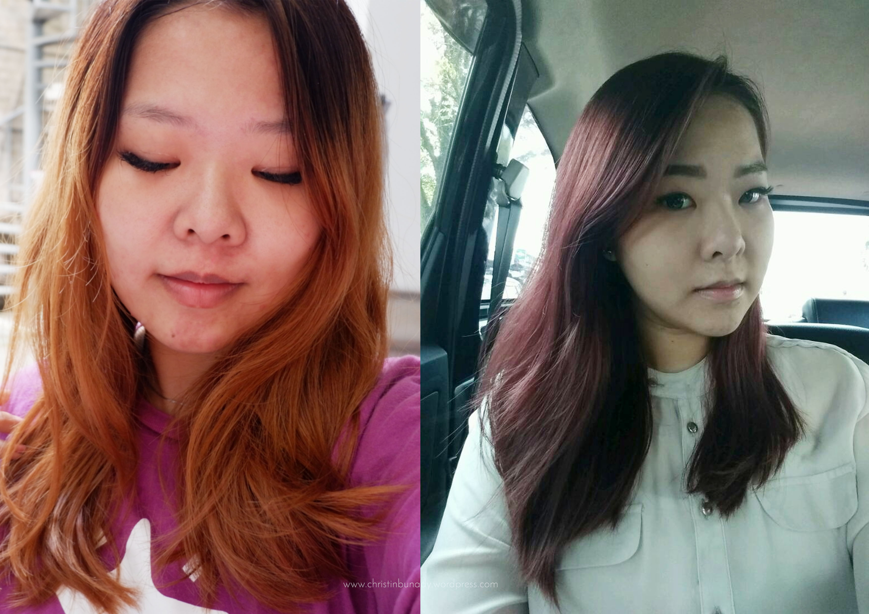 Hair Journey Part 4: Dark Burgundy Hair, again.