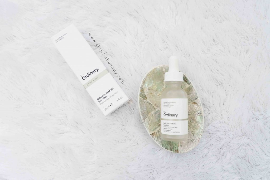 before after salicylic acid the ordinary