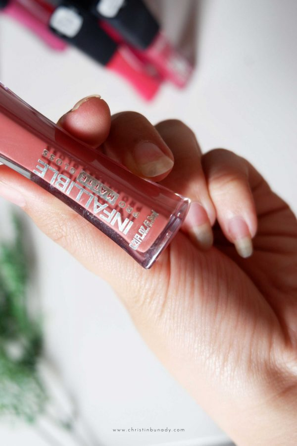 L'oreal Pro Matte Gloss 10 Shades, Swatch & Review