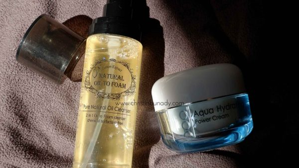 REVIEW : Langsre Aqua Hydrating Power Cream & Amitie Natural Oil to Foam